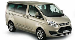 Ford Tourneo Custom 8+1 Seater Manual