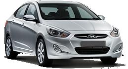 Hyundai Hyundaı Accent Blue