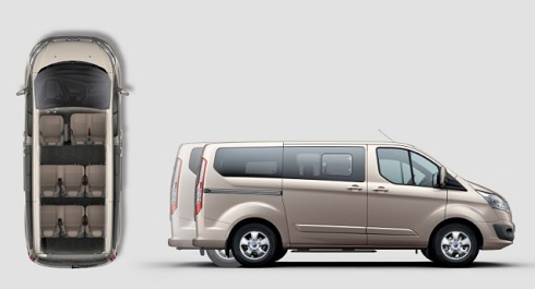 Ford Tourneo Custom 8+1 Seater AUTOMATIC