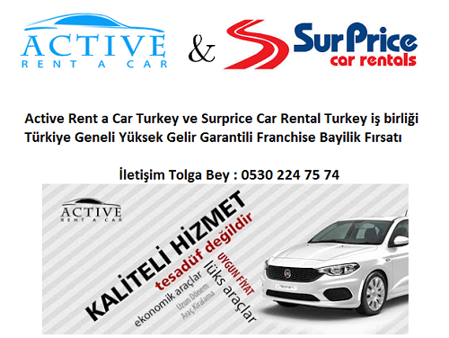Rent a Car Franchise Bayilik